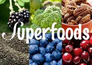 5 Superfoods Fruits and vegetables