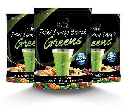 Total Living Drink Green