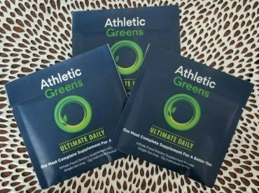 athletic greens nutrition label