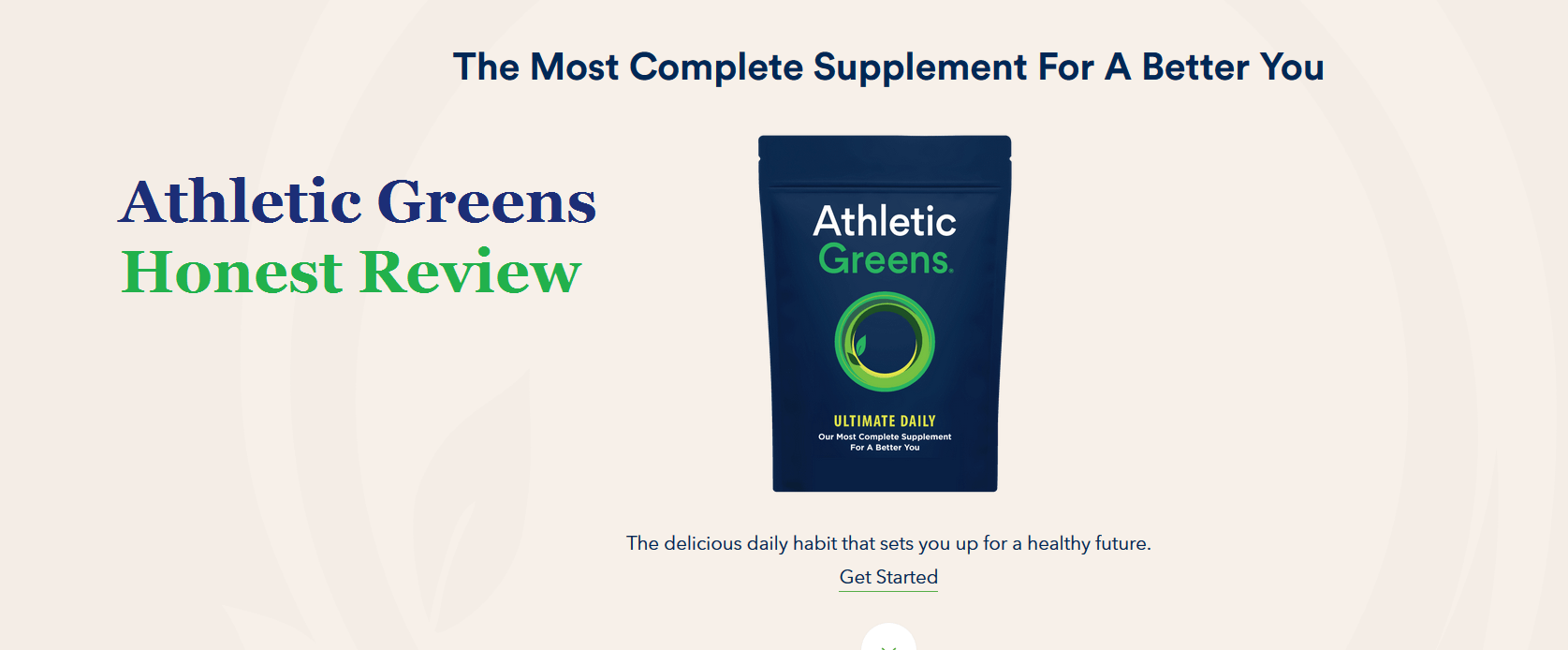 Athletic Greens Review - What Make It Best Superfood