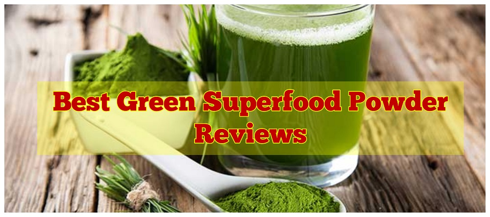 best green superfood powder