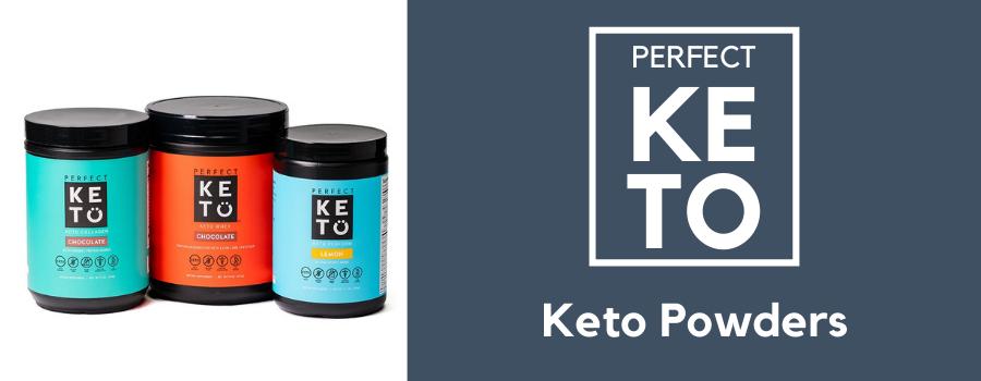 perfect keto exogenous ketone powder