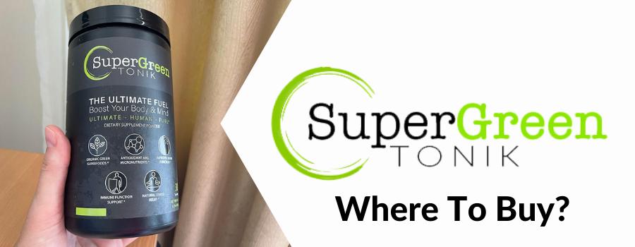 supergreen tonik coupon code uk