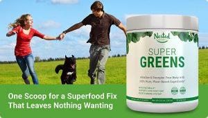 Nested Naturals super Greens superfood Powder