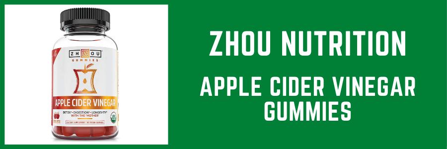 Zhou Nutrition Apple Cider Vinegar Gummies