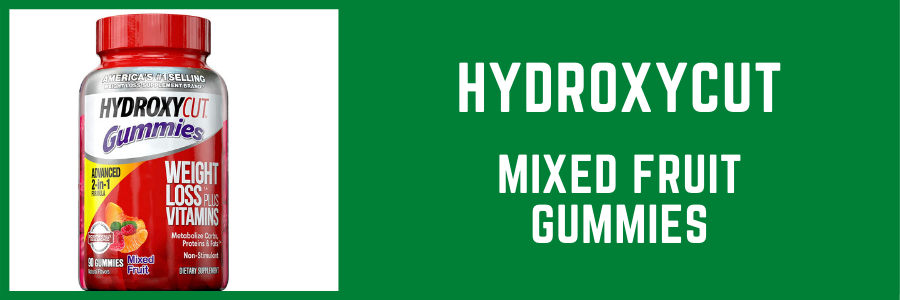 Hydroxycut Mixed Fruit Gummies