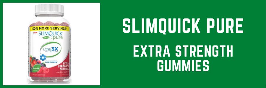 SlimQuick Pure Extra Strength Gummies
