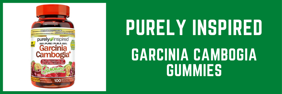 Purely Inspired Garcinia Cambogia Gummies