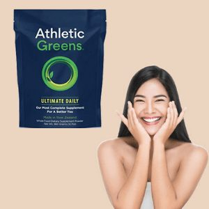 Athletic Greens- Best Green Powder Supplement For Skin & Hair