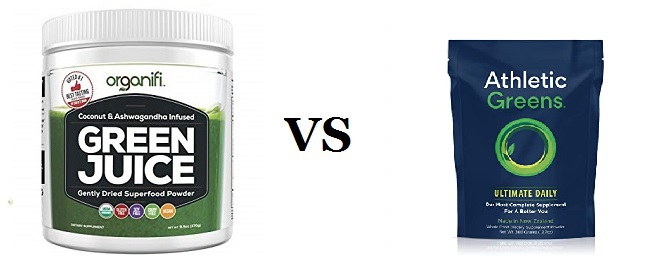 Organifi Green Juice Vs Athletic Greens