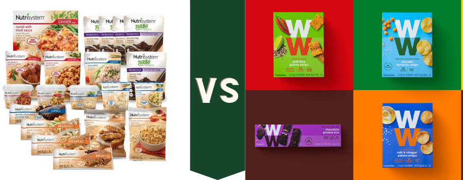 alternatives to nutrisystem vs weight watchers