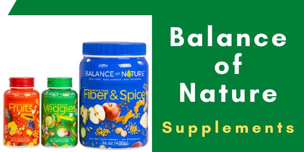 balance of nature fruits & veggies