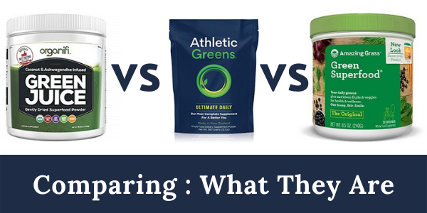athletic greens vs organifi